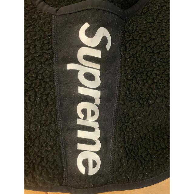 Supreme(シュプリーム)のシュプリーム supreme ネックウォーマー 黒 メンズのファッション小物(ネックウォーマー)の商品写真