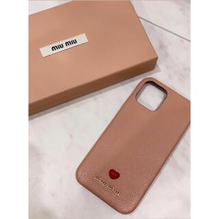 miumiu - 【新品・完売品】miumiu iPhone12,12pro用カバー