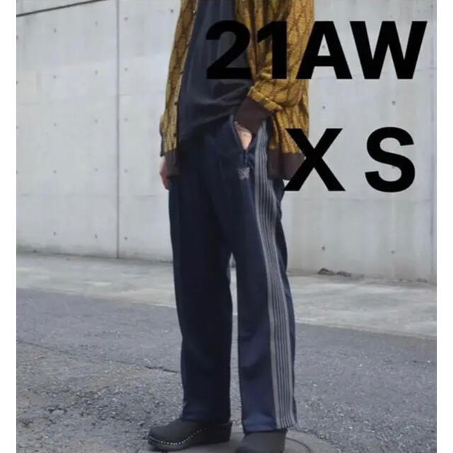 Needles(ニードルス)の21aw Needles Track Pant ストレート navy XS メンズのパンツ(その他)の商品写真