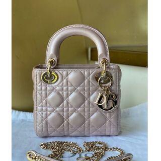 クリスチャンディオール(Christian Dior)のDior ディオール ladydior レディディオール (ハンドバッグ)