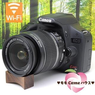 Canon - キャノン kiss X3★スマホに転送OK♪簡単操作の一眼レフ★1986