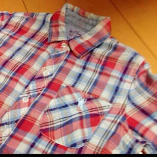 コーエン(coen)のcoenチェックコットンネルシャツ(シャツ/ブラウス(長袖/七分))