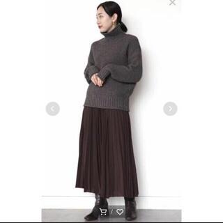 ビームス(BEAMS)のプリーツスカート(ロングスカート)