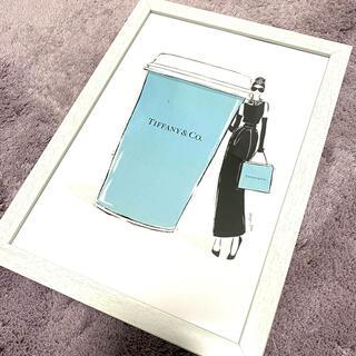 ティファニー(Tiffany & Co.)のTiffany ティファニー インテリアポスター ファブリックポスター 韓国(フォトフレーム)