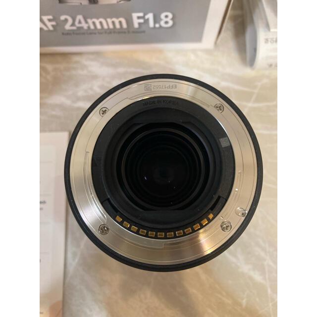 SONY(ソニー)のSAMYANG 単焦点レンズ AF 24mm F1.8 FE サムヤンeマウント スマホ/家電/カメラのカメラ(レンズ(単焦点))の商品写真