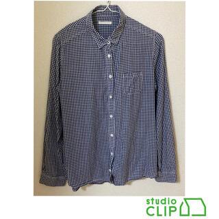スタディオクリップ(STUDIO CLIP)のstudioclip チェック柄 長袖 襟付シャツ(シャツ/ブラウス(長袖/七分))