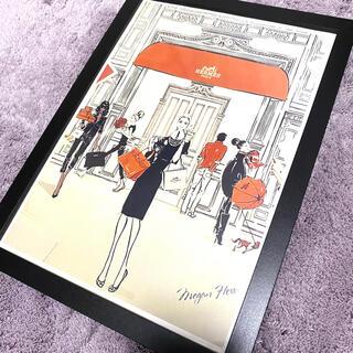 Hermes - インテリアポスター ファブリックポスター エルメス HERMES 韓国