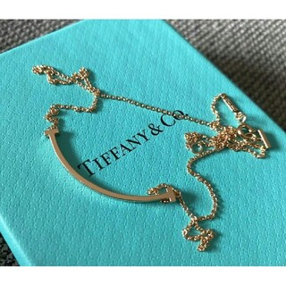 Tiffany & Co. - ティファニー T スマイル ネックレス