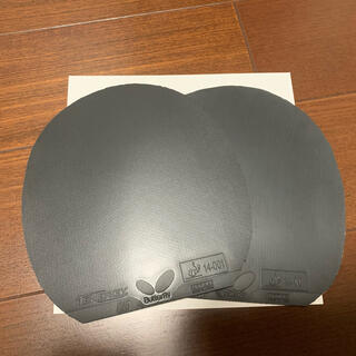 バタフライ(BUTTERFLY)のテナジー05   黒 特厚 2枚(卓球)
