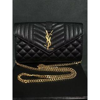 Yves Saint Laurent Beaute - チェーンショルダーバッグ ブラック