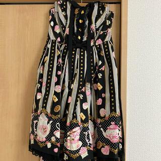 アンジェリックプリティー(Angelic Pretty)のWonder tea partyホルターネックJSK+おまけ♡(ひざ丈ワンピース)