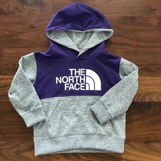 ザノースフェイス(THE NORTH FACE)のTHE NORTH FACEスウェットロゴフーディー100cm(Tシャツ/カットソー)