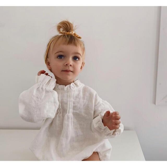 Caramel baby&child (キャラメルベビー&チャイルド)のmarlow and mae ロンパース 3y キッズ/ベビー/マタニティのキッズ服女の子用(90cm~)(その他)の商品写真