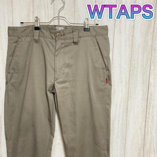 ダブルタップス(W)taps)の美品☆ WTAPS カラーチノ トラウザーパンツ デニム ジーンズ  MIKE(デニム/ジーンズ)