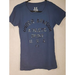 アンダーアーマー(UNDER ARMOUR)のアンダーアーマーレディースTシャツ(Tシャツ(半袖/袖なし))
