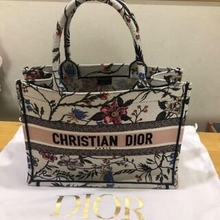 Christian Dior - DIOR クリスチャンディオール ブックトート ローザムタビリス