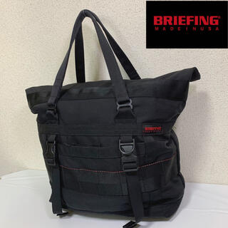 ブリーフィング(BRIEFING)のBRIEFING ブリーフィング トートバッグ ナイロン 黒 USA製(トートバッグ)