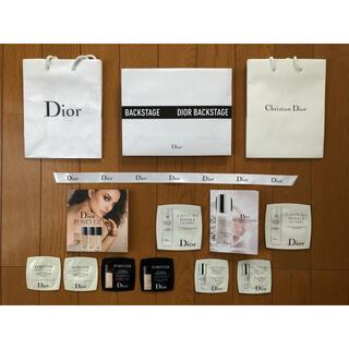 ディオール(Dior)のDior ディオール 試供品セット&ショッパー(サンプル/トライアルキット)