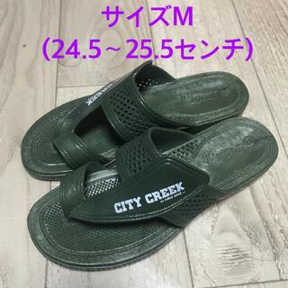 ニコアンド(niko and...)のサイズM(24.5〜25.5センチ) ギョサン (サンダル)