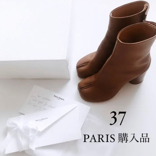 Maison Martin Margiela - 【パリ直営店購入】MaisonMargiela マルジェラ足袋ブーツ 37