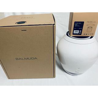 バルミューダ(BALMUDA)の☆美品☆バルミューダレイン ERN-1000SD-WK 加湿器  フィルター新品(加湿器/除湿機)