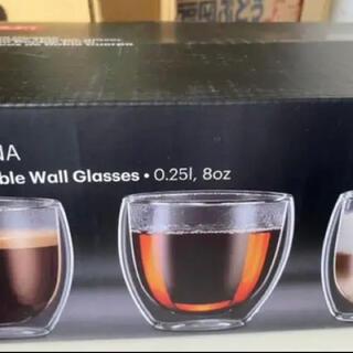 bodum - 新品未使用コストコ購入ボダムグラス6個セット