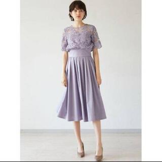 ラグナムーン(LagunaMoon)のラグナムーン♡レースドレス(ミディアムドレス)