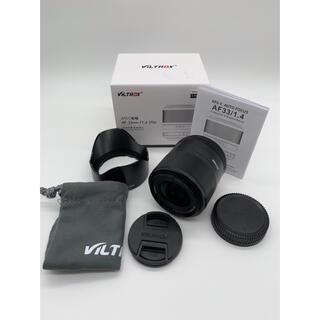 ☆美品【VILTROX】 AF 33mm F1.4 STM FUJIFILM 用(レンズ(単焦点))