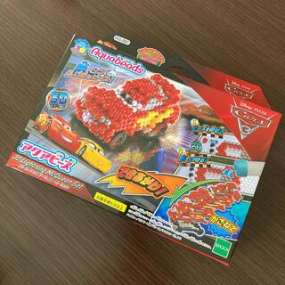 エポック(EPOCH)の【新品】アクアビーズ カーズ3 3D ライトニング・マックイーン セット(知育玩具)