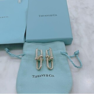 Tiffany & Co. - ハードウェア送料無料 Tiffany リンクピアス スモールサイズ 美品♡