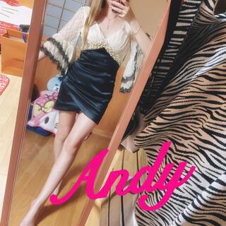 Andy - Andy❤️ビジュー✨レース袖ドレス(*≧∪≦)キャバ嬢❤️!