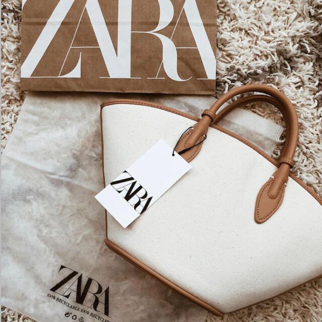 ZARA(ザラ)のZARA  トート レディースのバッグ(トートバッグ)の商品写真
