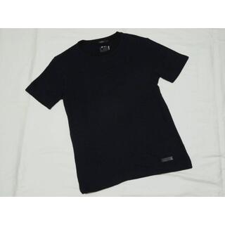 ブラックレーベルクレストブリッジ(BLACK LABEL CRESTBRIDGE)のブラックレーベル クレストブリッジ 半袖チェック柄ニットカットソー M 濃紺 (Tシャツ/カットソー(半袖/袖なし))