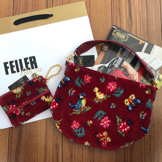 FEILER - 【お取置き中】FEILER 新品バッグ&ティッシュポーチ