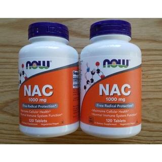 NOW N-アセチルシステイン NAC1000mg