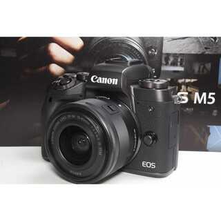 Canon - ❤️先進のプレミアムミラーレス❤️Canon EOS M5 レンズキット