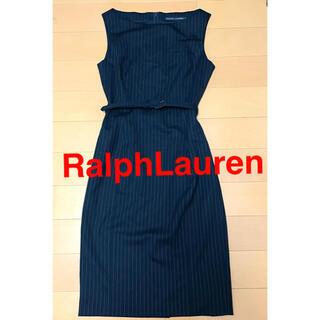 ラルフローレン(Ralph Lauren)のワンピース ラルフローレン 7号 美品 お呼ばれ 卒業式 レディース 七五三(ひざ丈ワンピース)