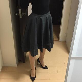 フォクシー(FOXEY)のフォクシー ウール スカート(ひざ丈スカート)