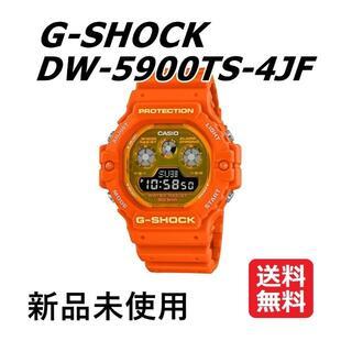 ジーショック(G-SHOCK)の【新品タグ付】G-SHOCK DW-5900TS-4JF ×2本(腕時計(デジタル))
