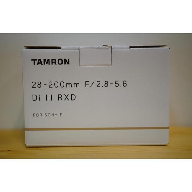 TAMRON(タムロン)の美品 タムロン 28-200mm F/2.8-5.6 ソニーEマウント A071 スマホ/家電/カメラのカメラ(レンズ(ズーム))の商品写真