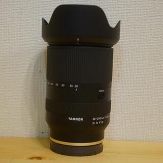 TAMRON - 美品 タムロン 28-200mm F/2.8-5.6 ソニーEマウント A071