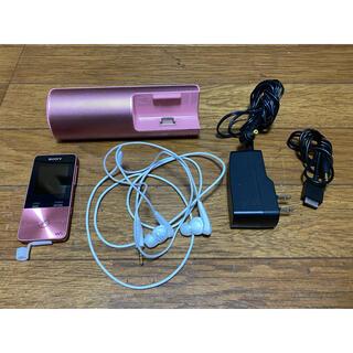 ウォークマン(WALKMAN)のSONY ウォークマン NW-S313 4GB  録音コード・説明書付(ポータブルプレーヤー)