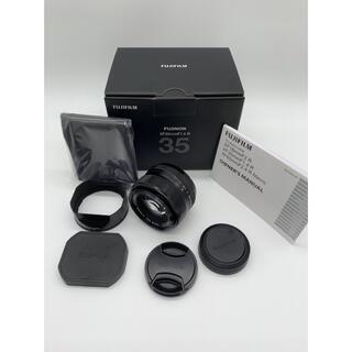 フジフイルム(富士フイルム)の☆美品【FUJIFILM】 XF 35mm F1.4 R ASPHERICAL(レンズ(単焦点))