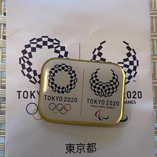 東京2020 オリンピック パラリンピック マグネットバッジ 東京都