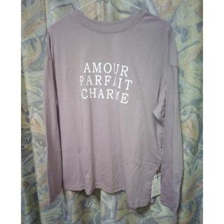 グレイル(GRL)のグレイル タグ付きロゴ入りTシャツF(Tシャツ(長袖/七分))
