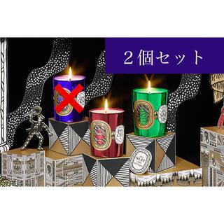 ディプティック(diptyque)のdiptyque ディプティック キャンドル 70g×2個セット(箱付)(キャンドル)