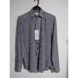 Maison Martin Margiela - 新品タグ付き メゾンマルジェラのギンガムチェックシャツ