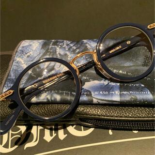 Chrome Hearts - 正規品 新品 クロムハーツ BRA-GILE メガネ ネイビー 目鏡