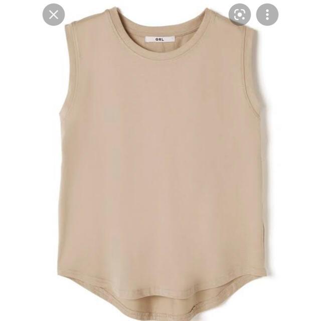 GRL(グレイル)のノースリーブTシャツ レディースのトップス(タンクトップ)の商品写真