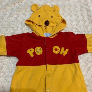 Disney - プーさん 長袖ロンパース 70cm